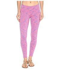 Lilly Pulitzer Weekender Leggings Tiki Pink Space Dye Women's Casual Pants