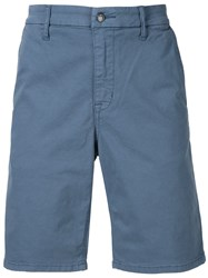 Joe's Jeans Knee Length Chino Shorts Blue