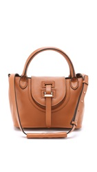 Meli Melo Classic Mini Thela Halo Bag Tan