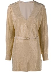 Balmain Embellished Tunic Metallic