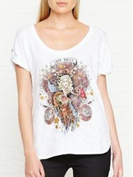 Just Cavalli Printed T Shirt White