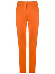 Andrea Marques High Waisted Trousers Yellow And Orange