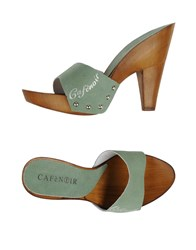 Cafe'noir Cafenoir Mules Light Green