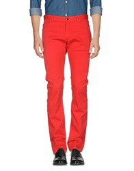 Paul And Shark Casual Pants Red