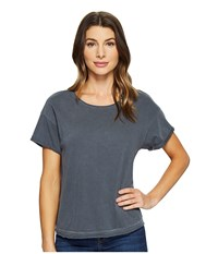 Joe's Jeans Hunter Crop Tee Black Smoke Women's T Shirt