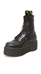R 13 Combat Stack Boots Black