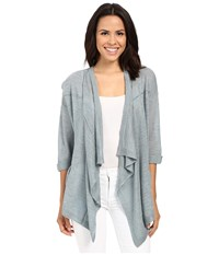 Mavi Jeans Open Front Cardigan Nile Blue Women's Sweater