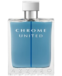 Azzaro Chrome United Eau De Toilette Spray 3.4 Oz