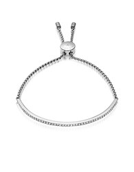 Michael Kors Brilliance Stainless Steel And Crystals Bracelet Silver