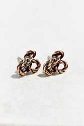 Urban Renewal Climber Knot Earring Gold