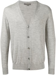 N.Peal Button Up Cardigan Grey