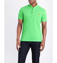 The Kooples Classic Fit Cotton Polo Shirt Grn47