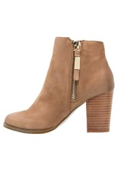 Aldo Mathia Ankle Boots Medium Brown Light Brown