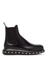 Alexander Mcqueen Studded Leather Chelsea Boots Black Multi