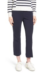 Nordstrom Women's Collection Ponte Crop Flare Leg Pants