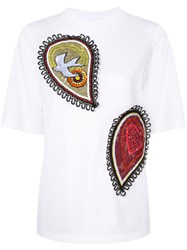 Romance Was Born Paisley Power T Shirt White