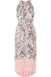 Chelsea Flower Christelle Printed Silk Chiffon Maxi Dress