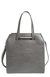 Matt And Nat Mardi Faux Leather Tote Grey Carbon