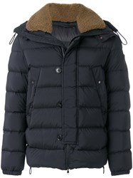 Peuterey Padded Jacket Feather Down Acrylic Polyamide Wool L Black