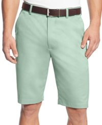 Greg Norman For Tasso Elba Men's Microfiber Golf Shorts Dusty Aqua