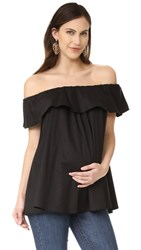 Hatch The Chloe Top Black