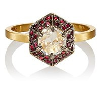 Cathy Waterman Hex Ring Gold