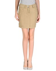 Laltramoda Skirts Mini Skirts Women Khaki