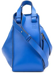 Loewe Zipped Shoulder Bag Blue