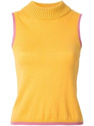 Rachel Gilbert Kendrix Knit Top Yellow