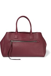 Marc Jacobs The Big Big Apple Leather Tote Burgundy