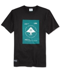 Lrg Men's Graphic Print T Shirt Black