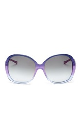 Escada Women's Large Round Sunglasses Purple