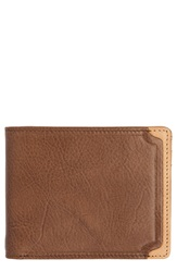 Trafalgar 'Gramercy Park' Leather Wallet Brown