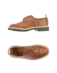 Tricker's Lace Up Shoes Brown