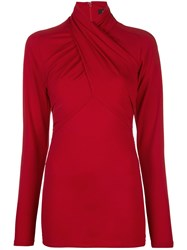 Isabel Marant Twisted Neck Long Sleeved Top 60