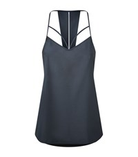 Under Armour Underarmour Fusion Racer Back Tank Top Female Dark Grey