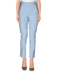 Manila Grace Trousers Casual Trousers Women Sky Blue