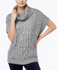Tommy Hilfiger Cassidy Cable Knit Sweater Only At Macy's Masters Navy