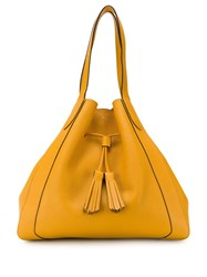 Mulberry Millie Drawstring Tote Bag Yellow