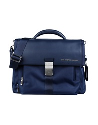 The Bridge Work Bags Dark Blue