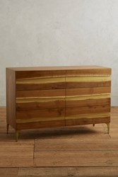 Anthropologie Prana Six Drawer Dresser Brown