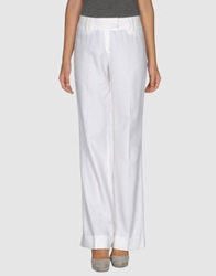 Caramelo Casual Pants White
