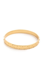 Madewell Half Dome Cuff Bracelet Vintage Gold