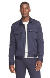 Atm Anthony Thomas Melillo Shirt Jacket Navy