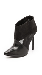 Schutz Pia Mesh Booties Black