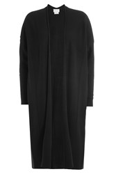 Dkny Merino Wool Cardigan Black