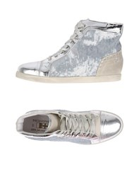 D'acquasparta Footwear High Tops And Trainers Women Silver