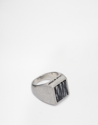 Cheap Monday Marble Ring Silver