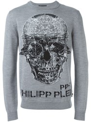 Philipp Plein 'Glen Ridge' Jumper Grey
