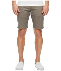 Brixton Toil Ii Hemmed Shorts Grey Men's Shorts Gray